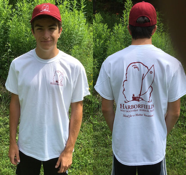 New Harborfields T-Shirt and Embroidered Logo Ball Cap