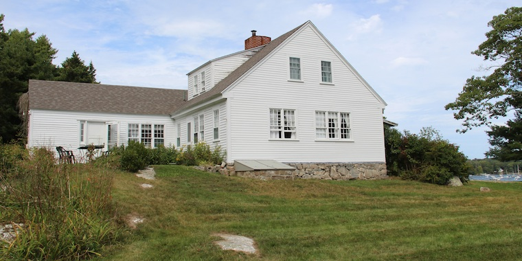The 1780 Farmhouse at Harborfields Cottages, Boothbay Harbor, Maine!