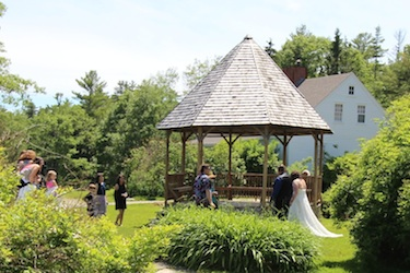Wedding Processional to the Gazebo at Harborfields